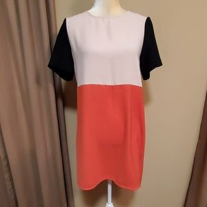 Zara Woman colorblock dress size Small